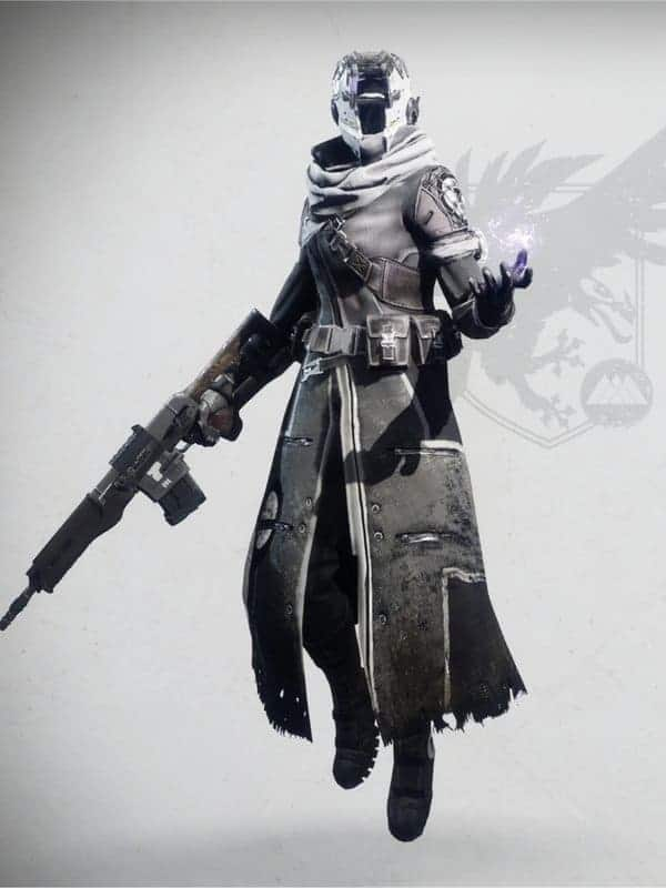 Anti-Extinction Set Warlock Female