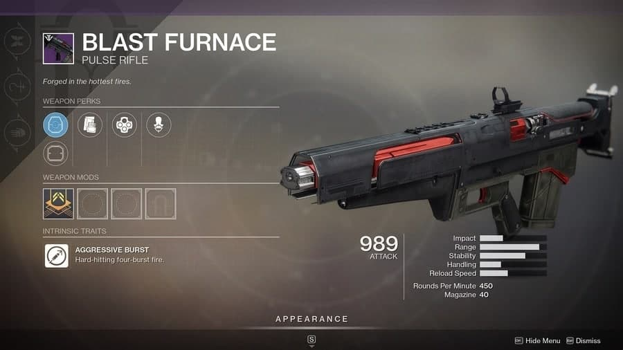 Destiny 2 Blast Furnace featured