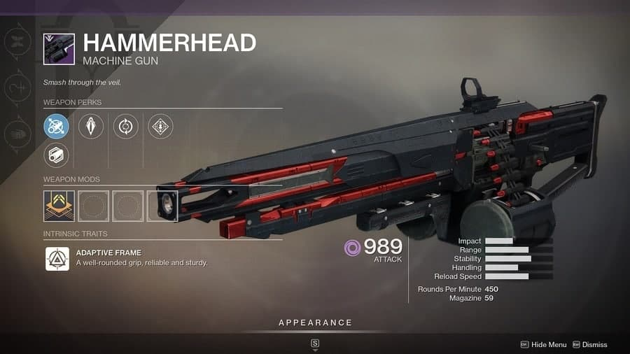 Destiny 2 Hammerhead featured