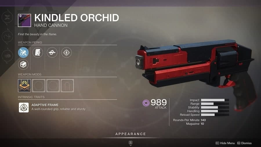 Destiny 2 Kindled Orchid featured