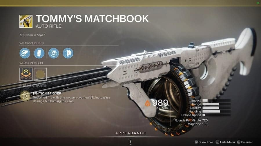 Destiny 2 Tommys Matchbook featured V3