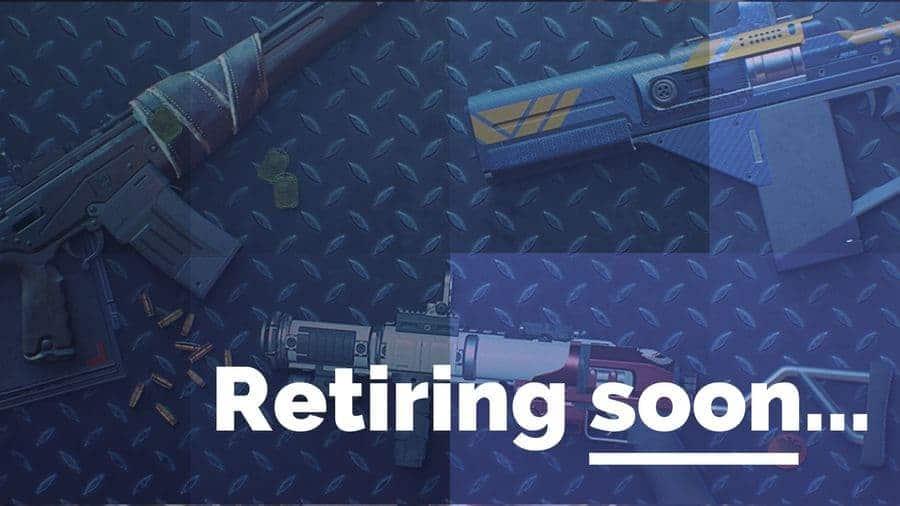 Destiny 2 Weapon retirement: The Complete List (per season)