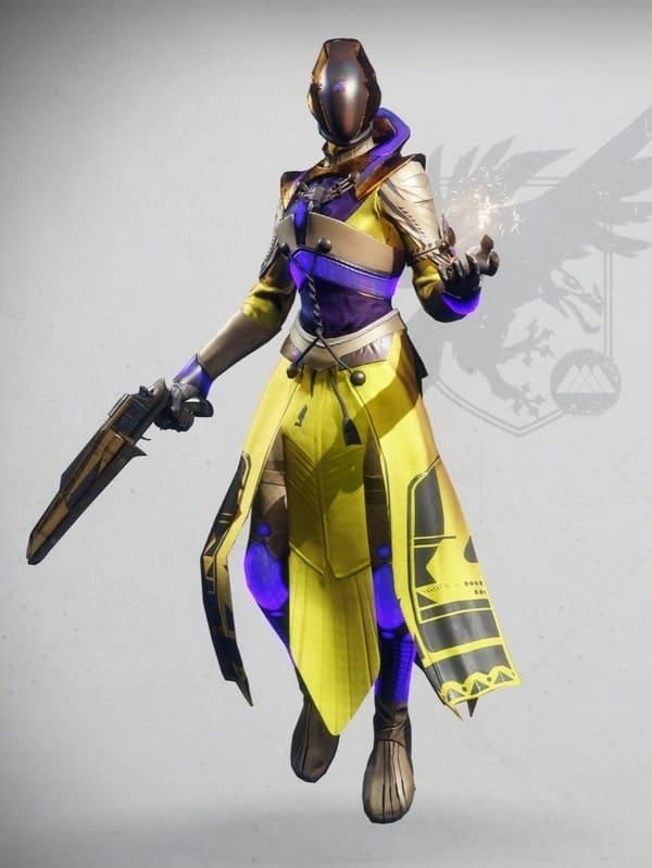 Emperor's Minister Set Warlock Female