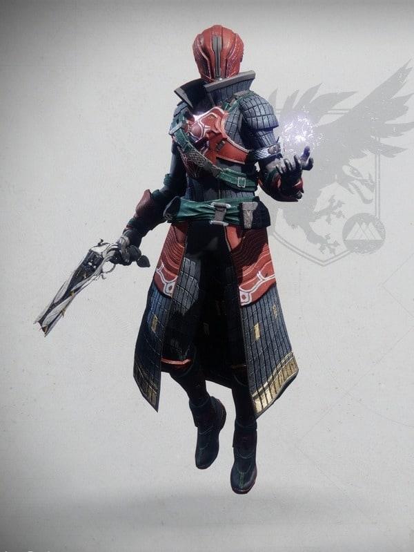 Iron Symmachy Set Warlock Female