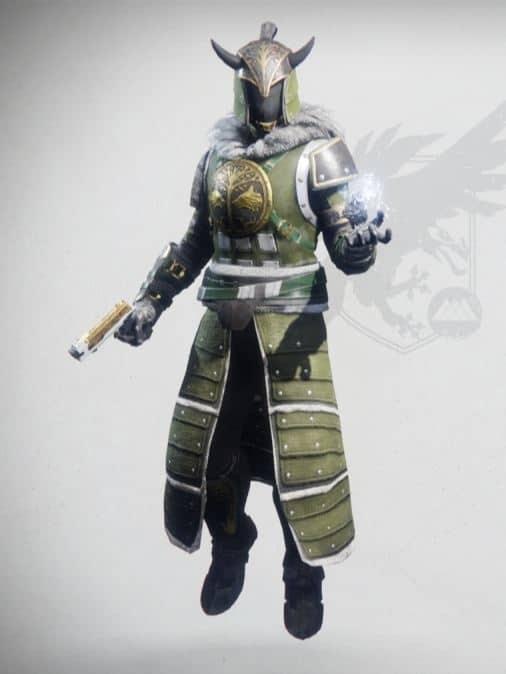 Iron Truage Set Warlock Male