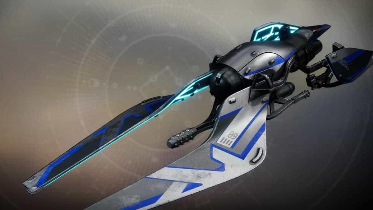 Adonis Blue Vehicle Destiny 2
