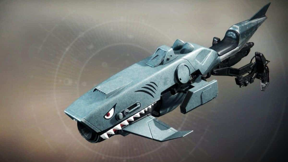 Blood in the Water Vehicle Destiny 2