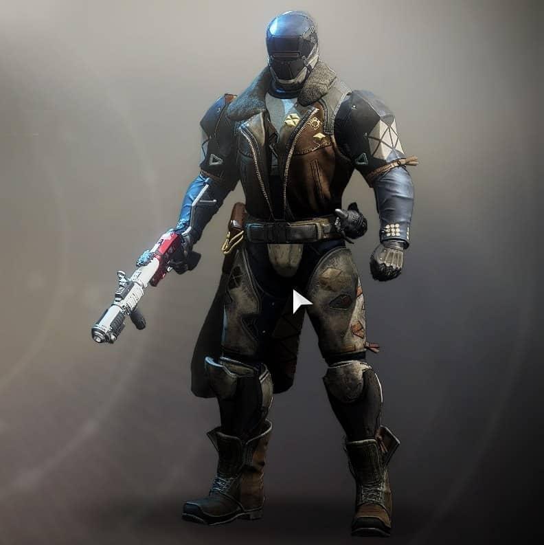 Destiny 2 Intrepid armor set Titan