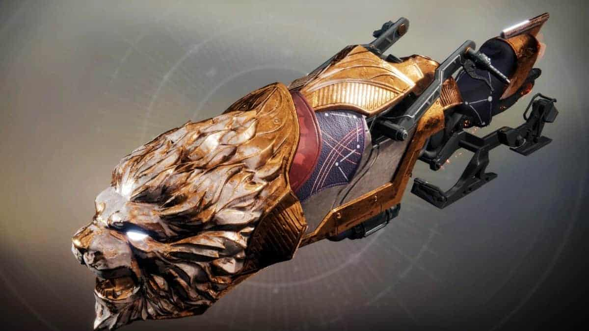 Golden Pride Vehicle Destiny 2