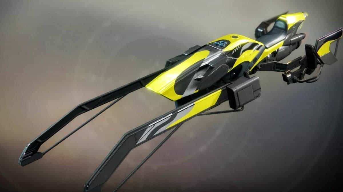 Marbled Orb Weaver Vehicle Destiny 2