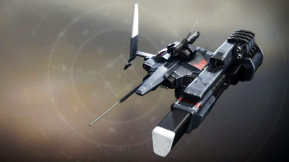 The Tall Tale Ship Destiny 2