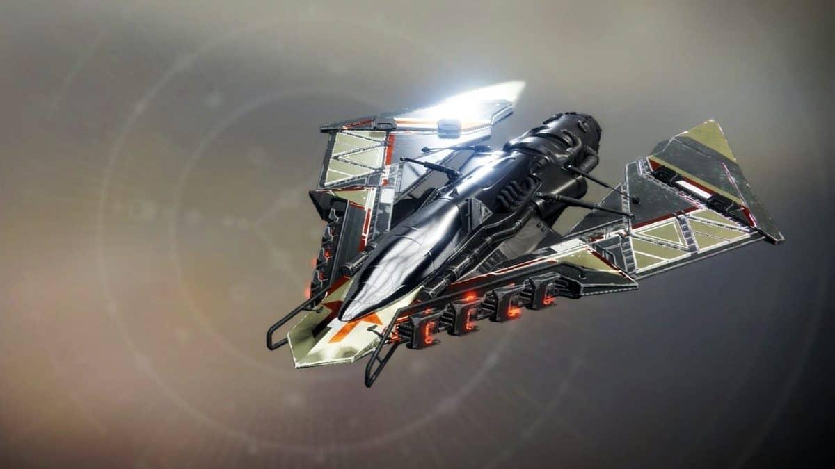 Unsecured Outcry Ship Destiny 2