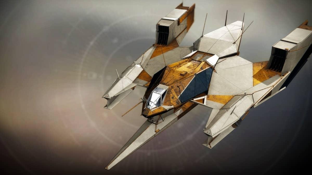 VG 17 Flying Fortress Ship Destiny 2