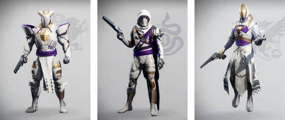Destiny 2 Leviathan Raid armor set