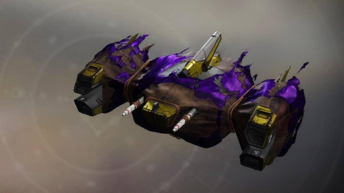 Aerial Shroud ship Destiny 2