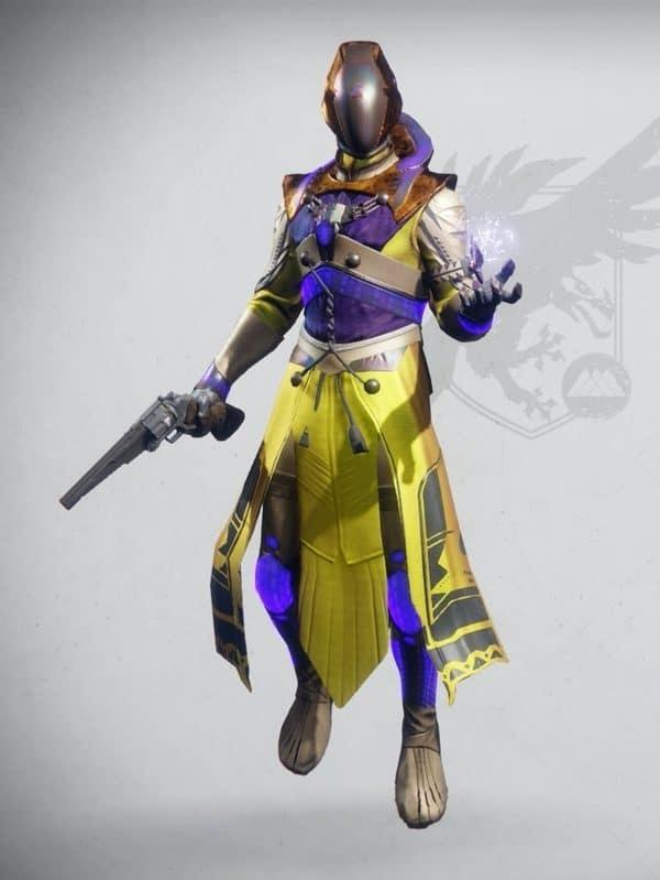 Destiny 2 Emperor's Minister Set Warlock Male