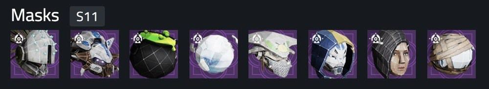 Destiny 2 Festival of the Lost 2020 masks