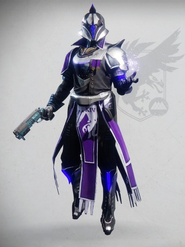 Destiny 2 Virtuous Warlock male