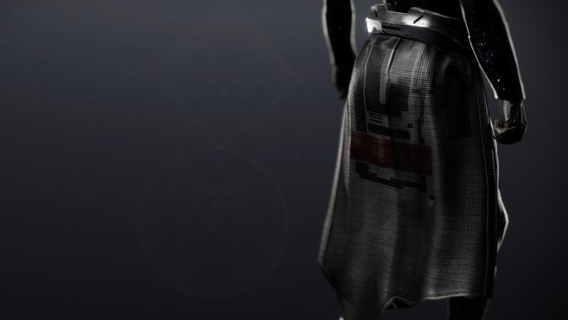 Destiny 2 Legacys Oath Class item