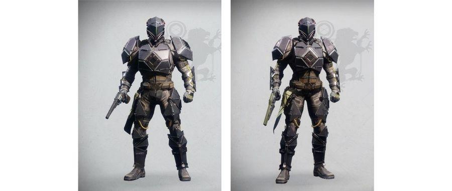 Destiny 2 Midnight Exigent armor set