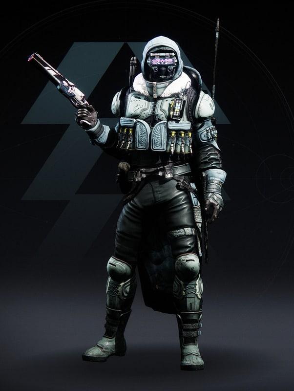 Destiny 2 Crystocene Hunter male