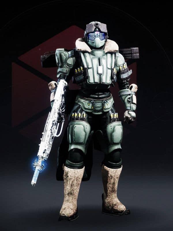 Destiny 2 Crystocene Titan male
