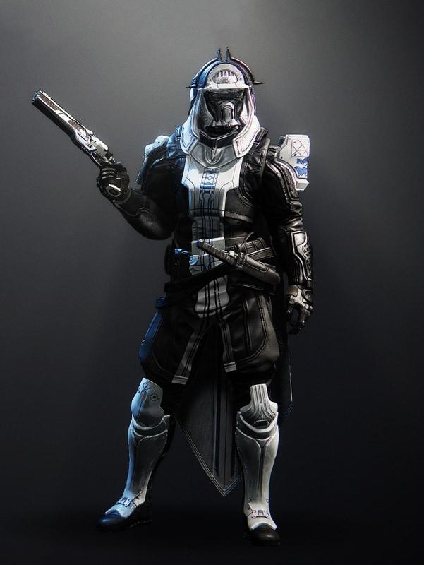 Destiny 2 Forbidden Visage Hunter male