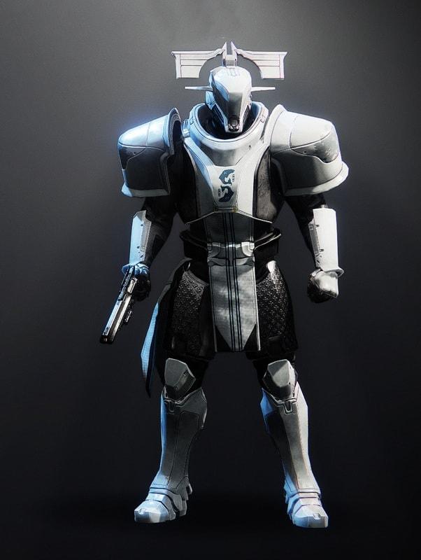 Destiny 2 Forbidden Visage Titan male
