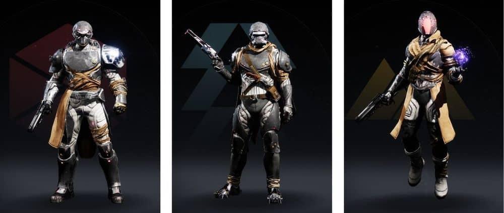 Destiny 2 Wild Hunt armor sets