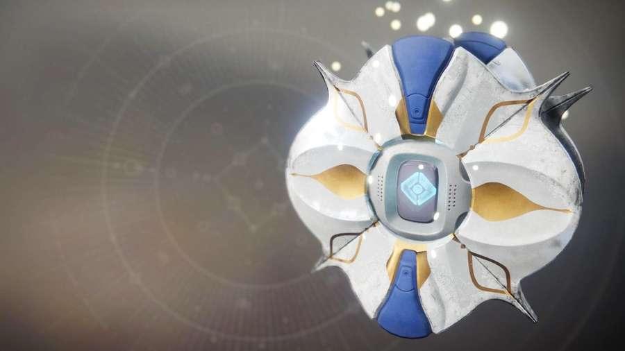 Destiny 2 Winter Lotus Shell
