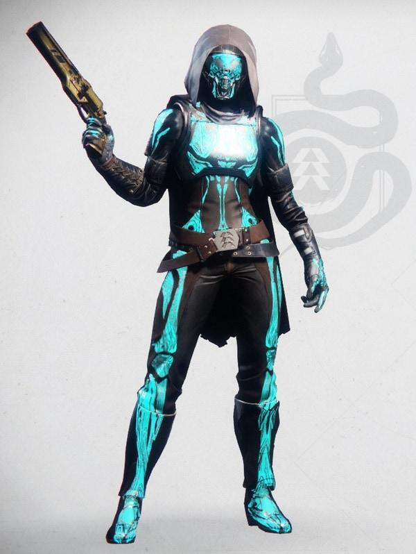 Destiny 2 Chthonic Hunter Female 1