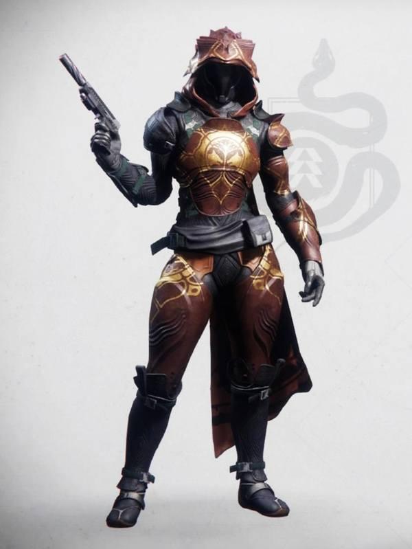 Destiny 2 Iron Fellowship Hunter Female 1