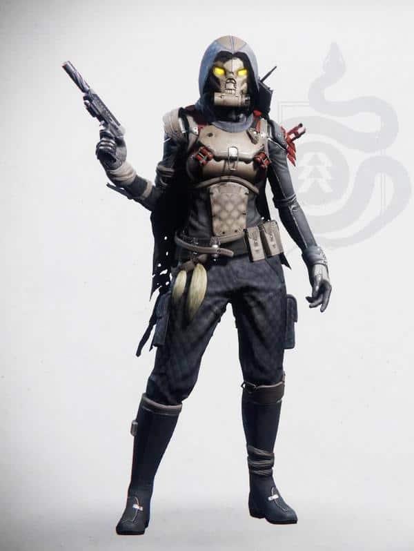 Destiny 2 Prodigal Suit Hunter Female 1