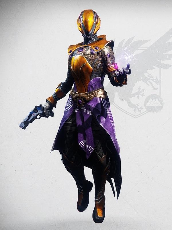 Destiny 2 Shadow of Silence Warlock Female 1