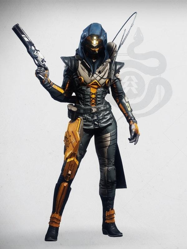 Destiny 2 Siegebreak Hunter Female V3