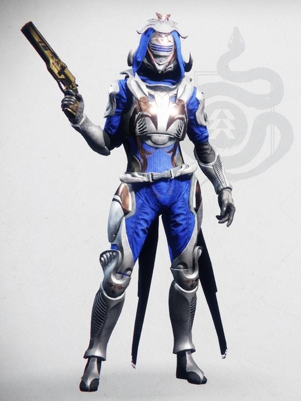 Destiny 2 Winterheart Hunter Female 1