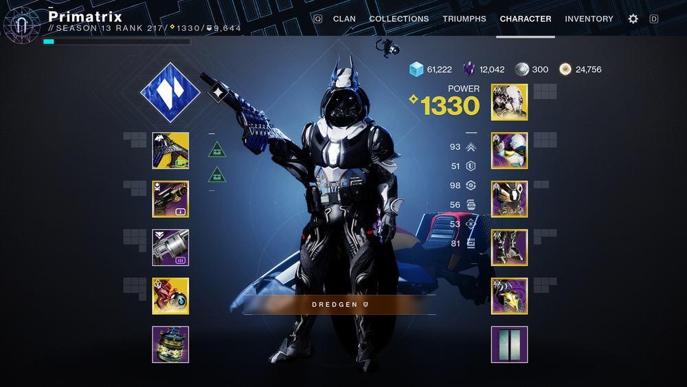 Destiny 2 Power level Character Season 14