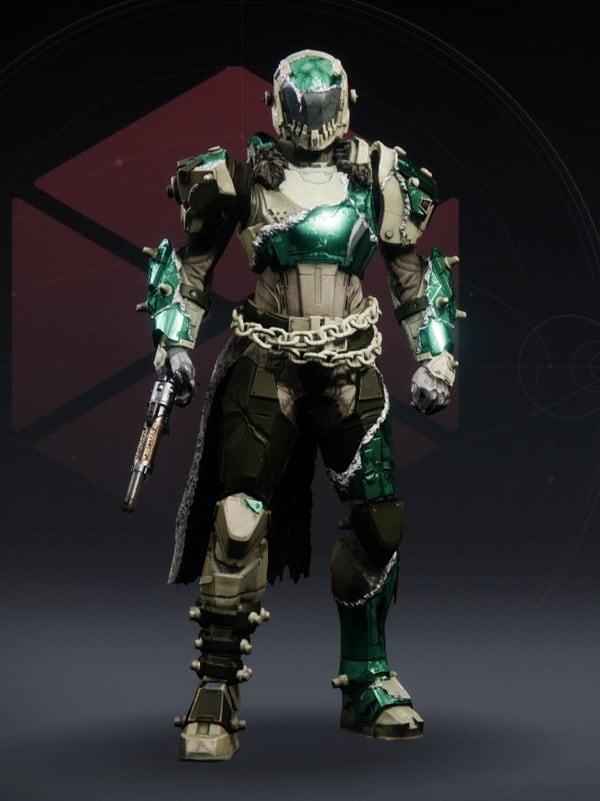 Destiny 2 Chemflesh Titan Female