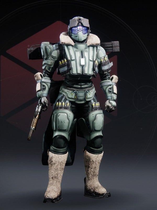 Destiny 2 Crystocrene Titan Female