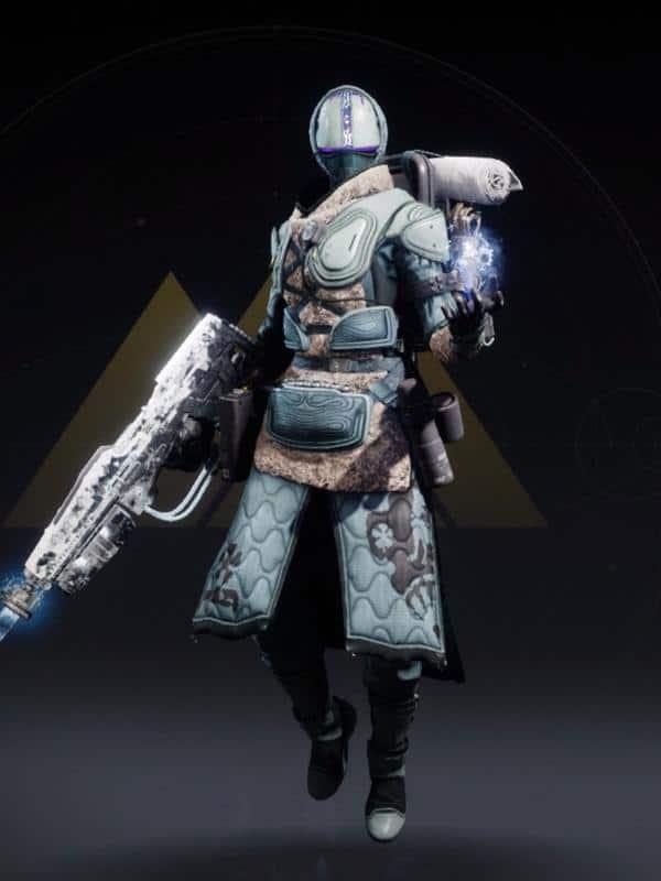 Destiny 2 Crystocrene Warlock female