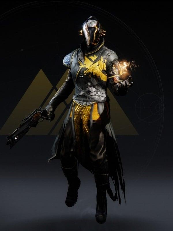 Destiny 2 Damaged Warlock male