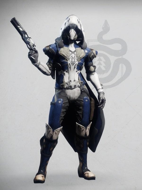 Destiny 2 Dragonfly Regalia Hunter female