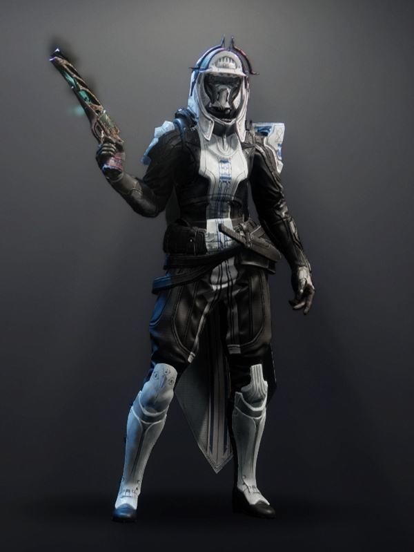 Destiny 2 Forbidden Visage Hunter female