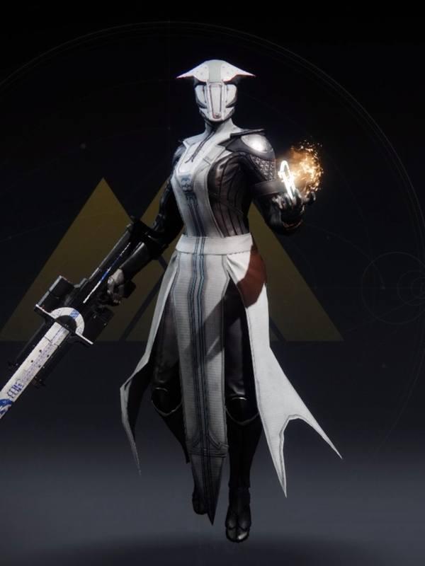 Destiny 2 Forbidden Visage Warlock female