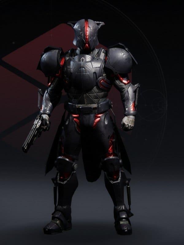 Destiny 2 Forged Mechanist Titan male