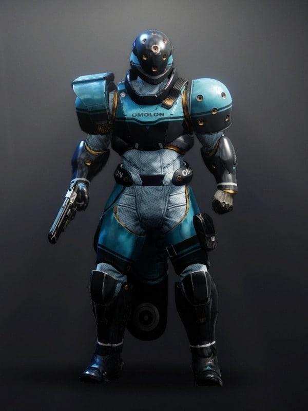 Destiny 2 Future-Facing Titan male