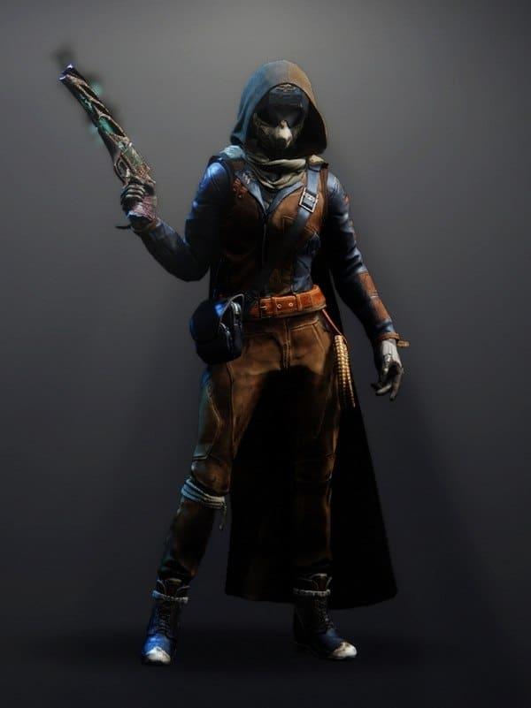 Destiny 2 Intrepid Set Hunter female
