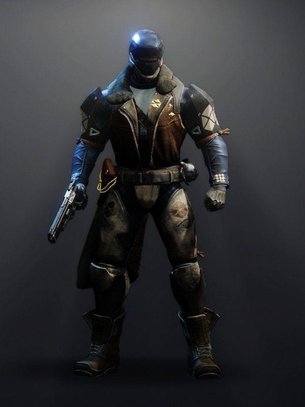 Destiny 2 Intrepid Set Titan male