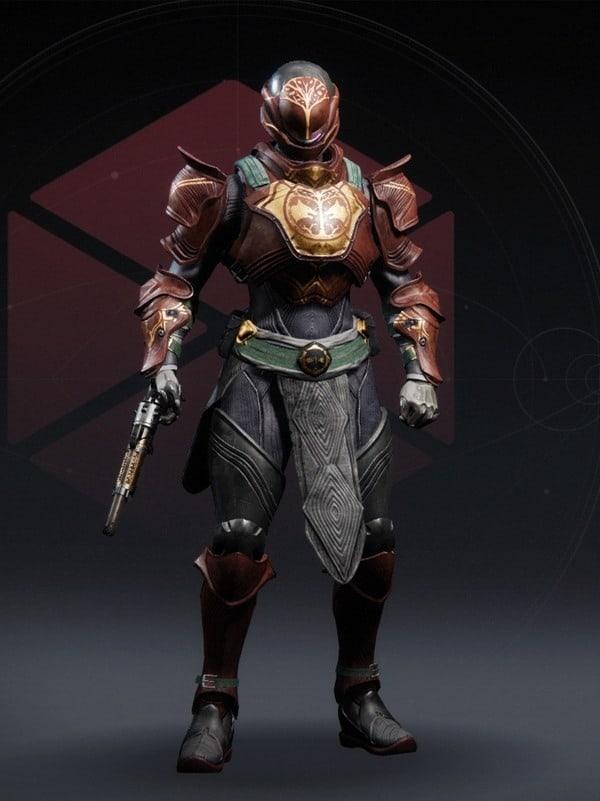 Destiny 2 Iron Fellowship Titan Female