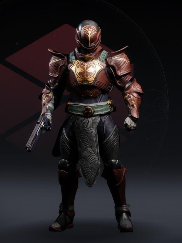 Destiny 2 Iron Fellowship Titan male